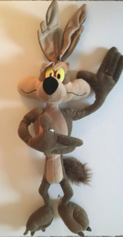 "Wile E.Coyote Plush 25"" Looney Tunes. Great Used Condition."