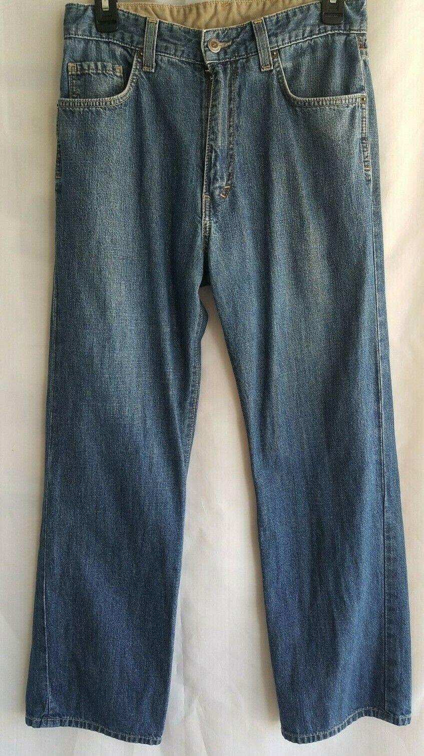 Men s HURLEY INTERNATIONAL IDENTITY JEAN MADE IN USA Denim Jeans Sz 30 30x27  - $12.95