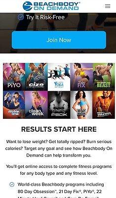 Books & Video - Beach Body Workout