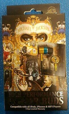 Section8 RBW7059 Michael Jackson In-Ear Headphones - Window Box - Gold/Black (Michael Jackson Headset)