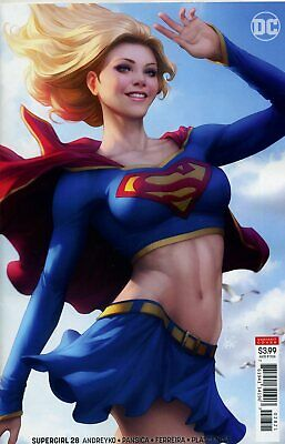 "SUPERGIRL #28 VARIANT Stanley "" Artgem "" Lau - 2019 - DC COMICS - USA - H946"
