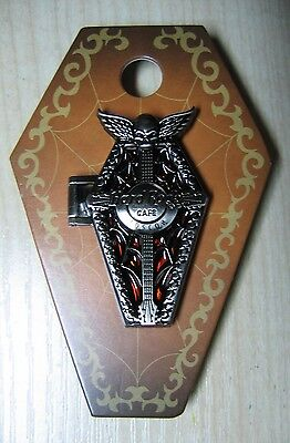Hard Rock Cafe Moscow Halloween Hinge Coffin 3D pin LE100