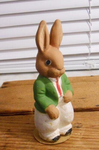 Vintage Germany Papier-mache Easter Bunny Rabbit