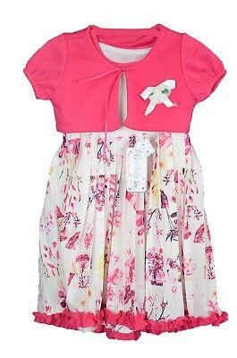 Süßes Kleid für kleine Prinzessin Ärmelloss Kleid Sommer mit Bolero ()
