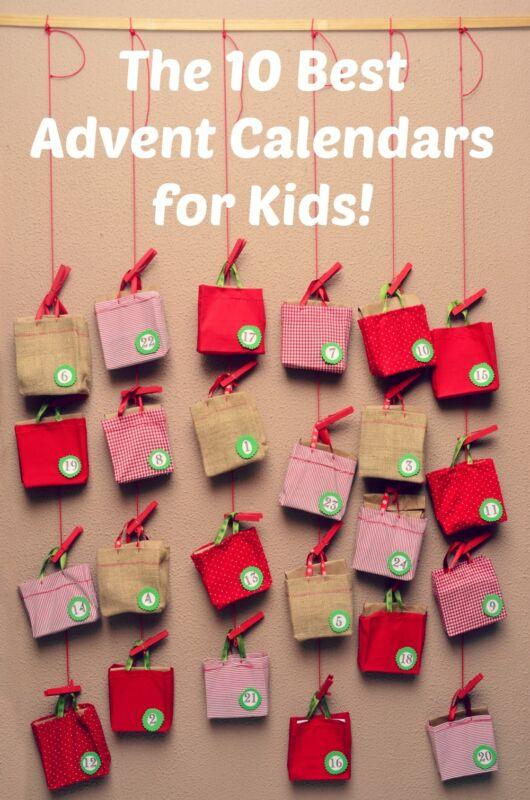 10 unique advent calendars for kids ebay. Black Bedroom Furniture Sets. Home Design Ideas