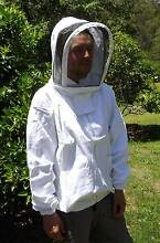SALE - NEW 100% Cotton Beekeeping Bee Veil shirt Jacket with Hat Wollombi Cessnock Area Preview