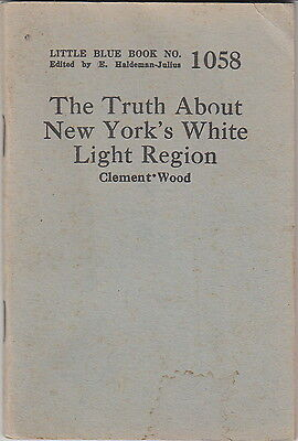The Truth About New York's White Light Region by C. Wood~Little Blue Book #1058~ Little White Lights