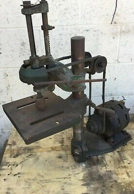 Walker Turner Bench Top Drill Press Model Dp101 Free Shipping