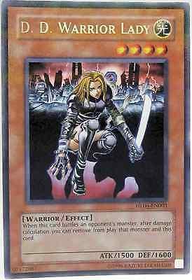 HL06-EN003 D.D. Warrior Lady / D.D. Kriegerin