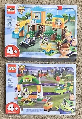 LEGO Duplo TOY STORY Carnival #10771 BUZZ & BO PEEP'S Playground #10768 Lot NIB!