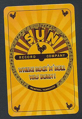 SUN Record Company Memphis TN playing card single swap jack of clubs - 1 card