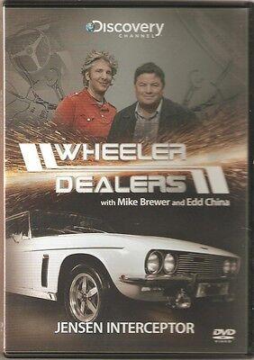 WHEELER DEALERS JENSEN INTERCEPTOR WITH MIKE BREWER AND EDD CHINA DVD