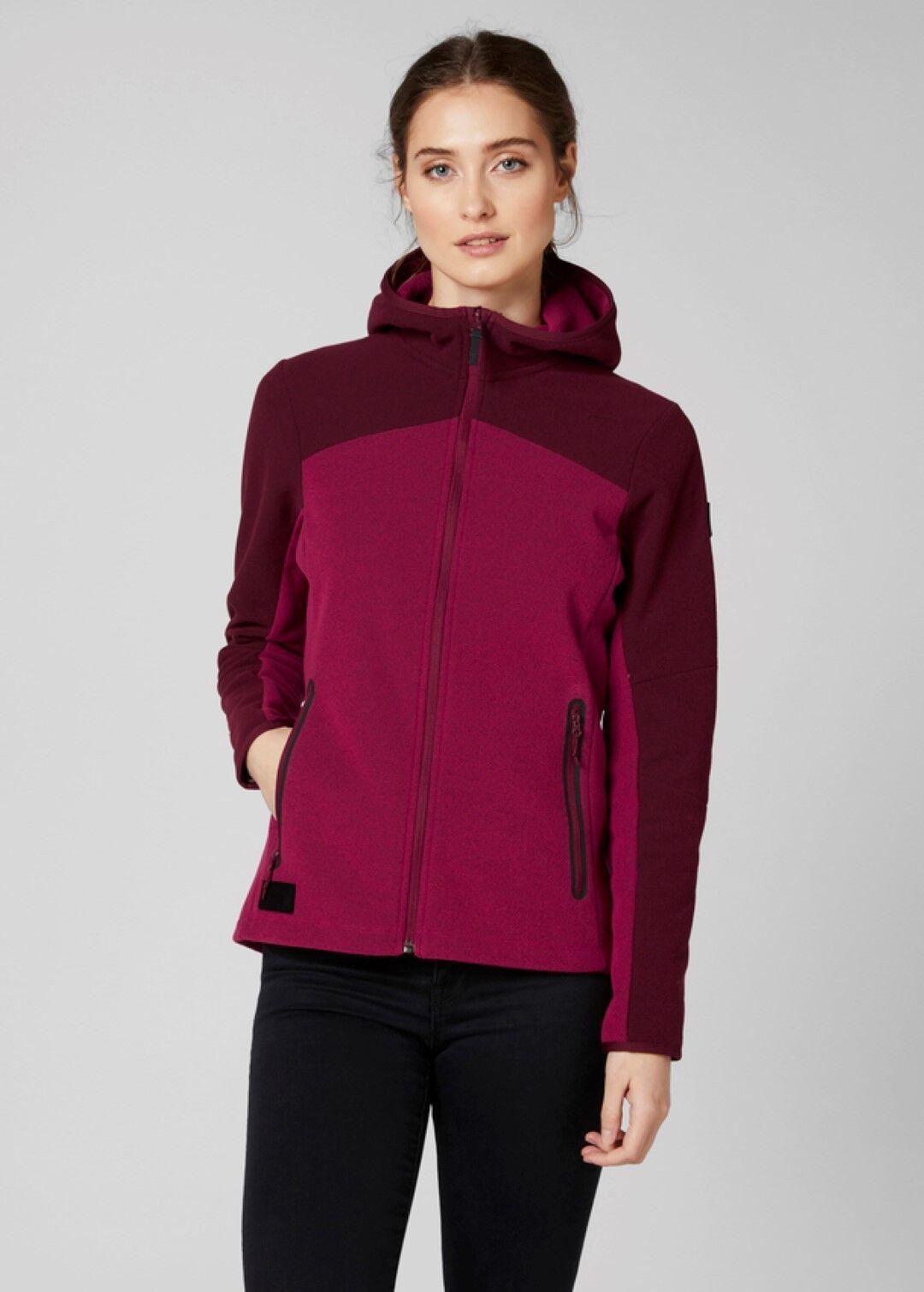 9b42df09 Helly Hansen W Vanir Fleece Jacket Persian Red M | eBay