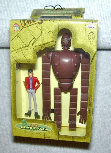 NEW LUPIN THE THIRD: LUPIN THE THIRD & ROBOT FIGURES (DJ) US SELLER