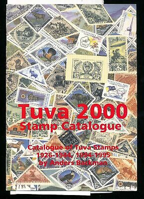 TUVA Touva 2000 Stamp Catalogue Colour Illustrated Backman (DD474