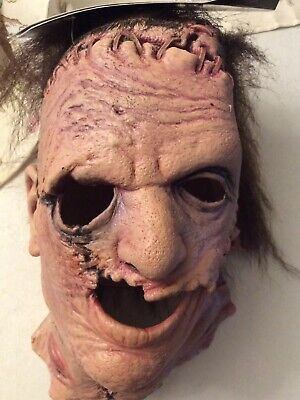 TRICK OR TREAT TEXAS CHAINSAW MASSACRE HALLOWEEN MASK SCARY BEST ON MARKET NEW