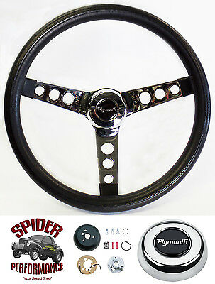 1970-1974 Valiant steering wheel PLYMOUTH 13 1/2