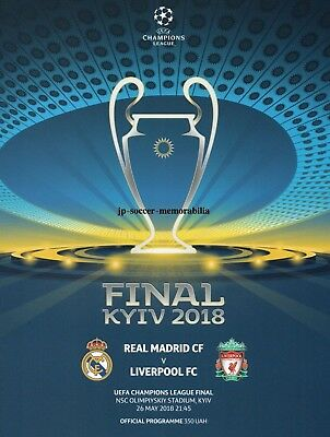 Real Madrid v Liverpool - UEFA Champions League Final - 26 May 2018 - IN STOCK.