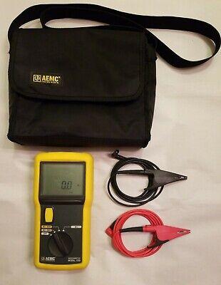 Aemc 1030 Digital Megohmmeter With Leads And Bag