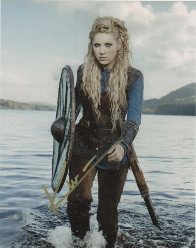 Katheryn Winnick Vikings Autographed Signed 8x10 Photo COA #EE298
