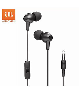 JBL C200si In-ear 3.5mm Wired Earphones Sports Music Headset Gym Gaming Earbuds