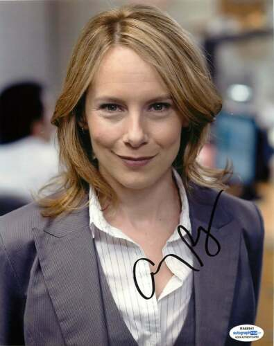 Amy Ryan Signed The Office 'Holly Flax' 8x10 Photo ACOA B Birdman