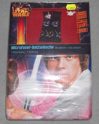 Star Wars Kinder Bettwäsche OVP Luke Skywalker Han Solo Lando Figur Kids Bedding