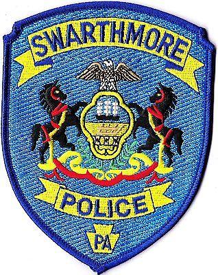 Swarthmore Police Pennsylvania PA patch NEW