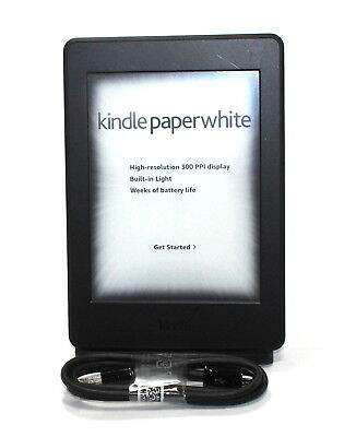Kindle Paperwhite E Reader   Black  6  High Resolution Display 300Ppi W So  Good