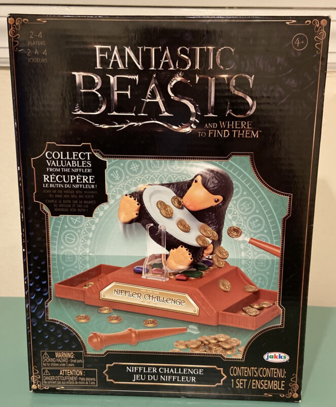 New Sealed 2018 Fantastic Beasts And Where To Find Them Niffler Challenge Game