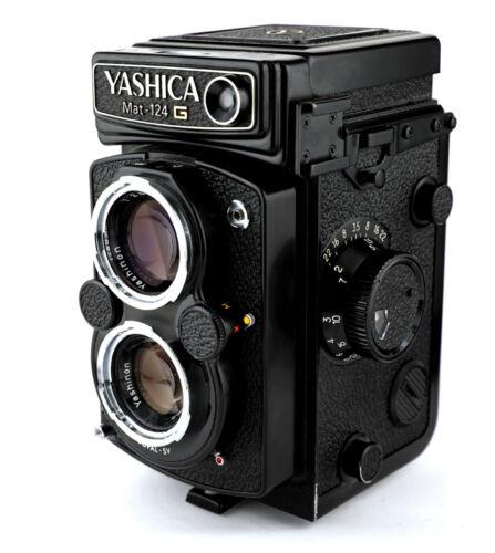 Yashica Mat-124G Medium Format TLR Film Camera BEAUTIFUL CONDITION!!!! + CASE