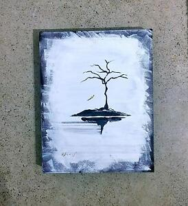 Lone Tree Acrylic on Canvas Artwork Greenslopes Brisbane South West Preview