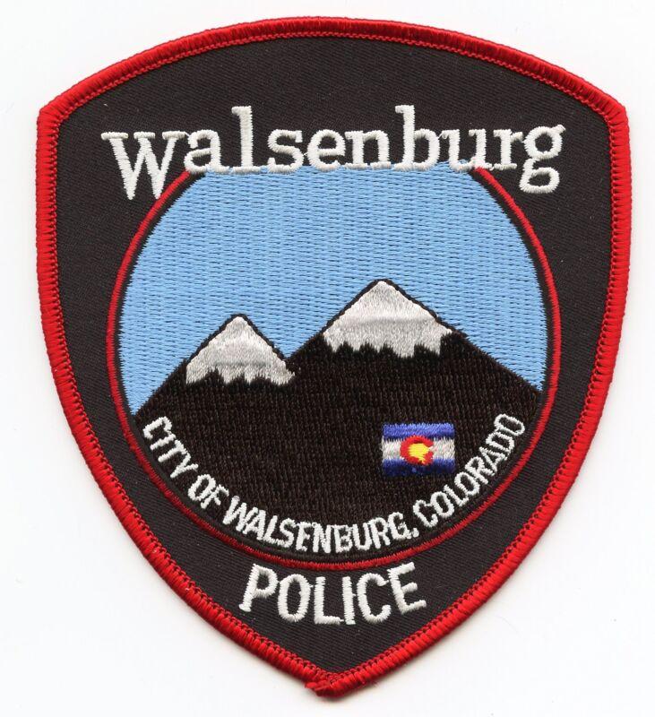 WALSENBURG COLORADO CO POLICE PATCH