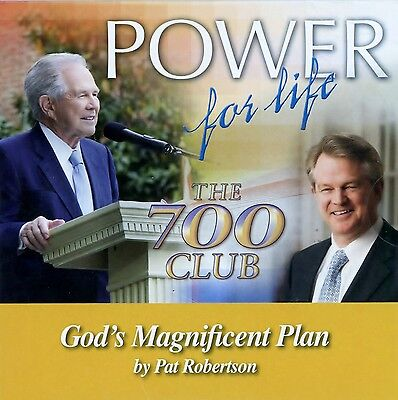 700 Club Power For Life Cd  Gods Magnificant Plan  By Pat Robertson