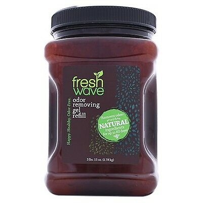 Fresh Wave Continuous Release Odor Eliminator Gel, 63-Ounce Jar NEW Packaging