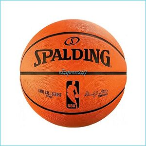 NEW Spalding NBA Replica Rubber Outdoor Basketball Official Size 7 (29.5