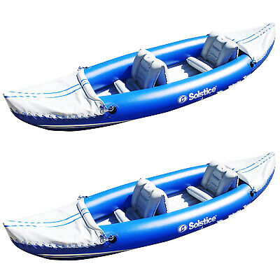 Solstice Whitewater Rapids Rogue 2-Person Convertible Inflatable Kayak (2  Pack) cfb9d7046486d