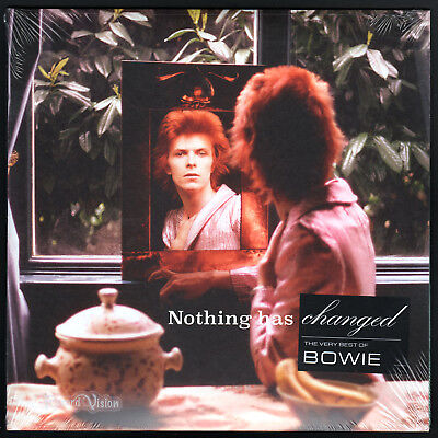David Bowie - Nothing Has Changed (2014) [SEALED] 2-LP Vinyl; The Very Best (Best David Bowie Record)
