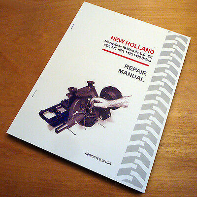 New Holland Twister Wire Tie Service Manual 320 326 420 425 426 1425 1426 Baler