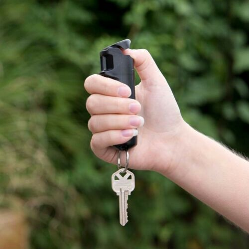 Sabre Red .54oz Police Strengt Pepper Gel Keychain W/Flip Top & Identifying Dye