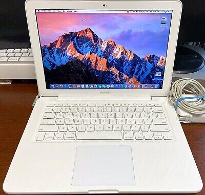 """Apple Macbook 13.3"""" UNIBODY 2.26GHz 256GB SSD 4GB 10.13 Office 2016 MC207LL/A"""