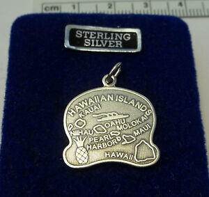 Sterling-Silver-Hawaii-or-Hawaiian-State-Charm