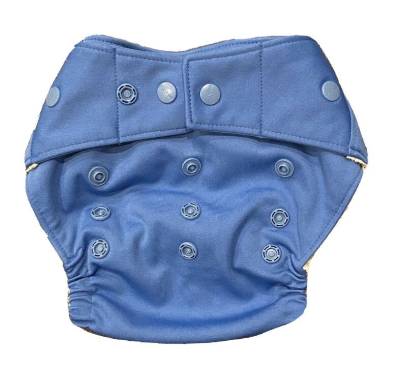 EUC - Grovia Cloth Diaper Cover - Topaz