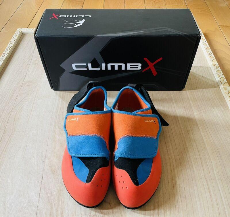 CLIMB X Kids Rock Climbing Shoes Size 5 Youth Big Kid Padded Ankle Cuff