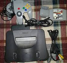 100% Working Nintendo 64 NUS-001(EUR) with game and controller Port Noarlunga Morphett Vale Area Preview