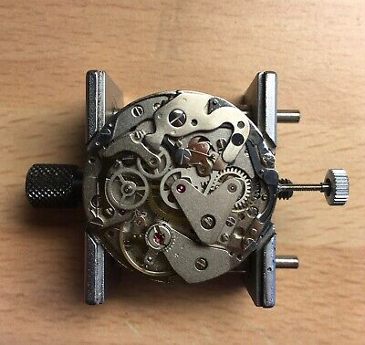 Valjoux 7734 Chronograph Movement, Vintage, Believed To Be NOS