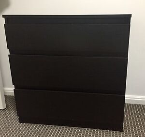 Chest of Drawers (3 drawers) North Sydney North Sydney Area Preview