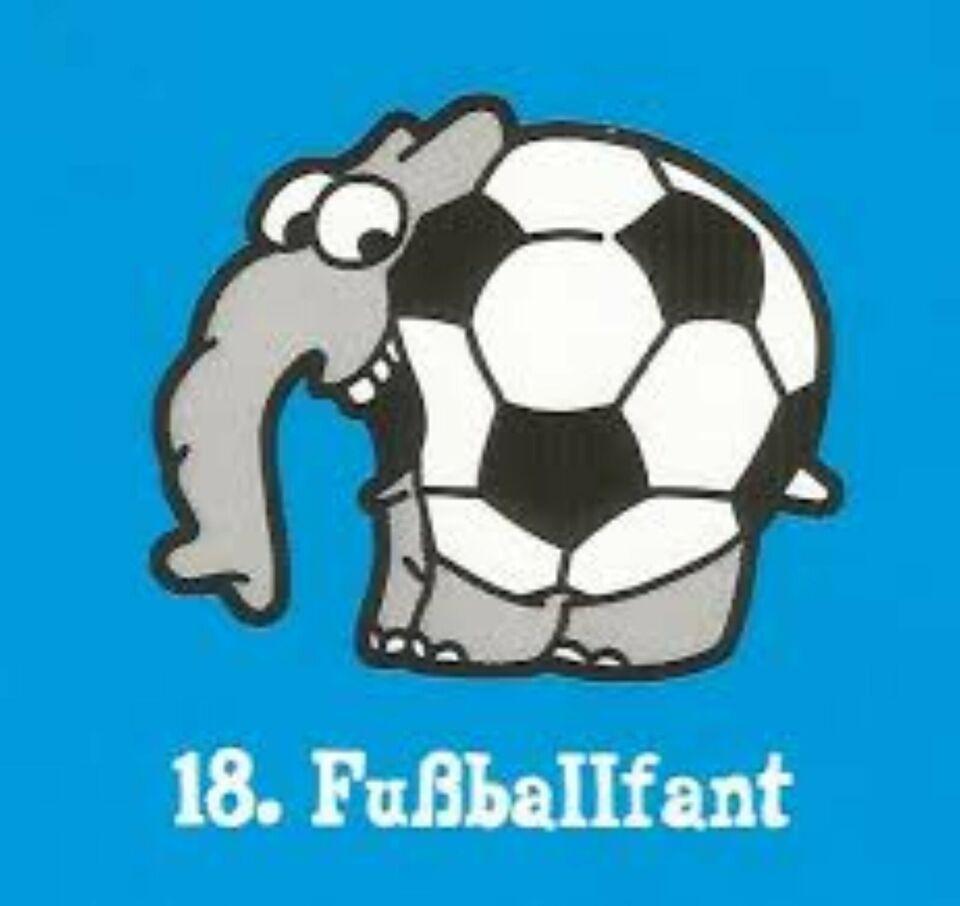 Ottifant (EDEKA) 1x No.18 Fußballfant in Lemwerder