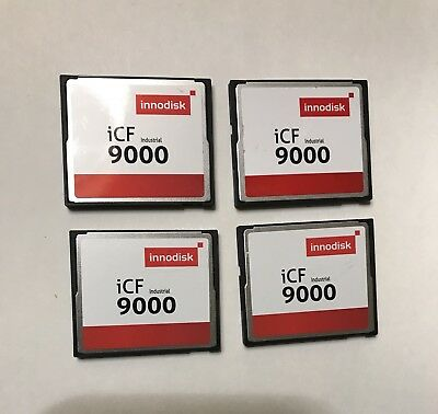 8GBx4 Innodisk CompactFlash  Total 32gb CF Cards  used
