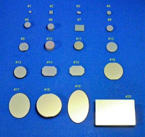 Large Selection of Quality First Surface Mirrors, Over-run Optics fr IOS (BK7,FS